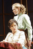 'YOU NEVER CAN TELL' (GB Shaw - director: Peter Hall),(front) Diana Quick (Mrs Clandon), Nancy Carroll (Gloria),Theatre Royal Bath             25/08/2005,
