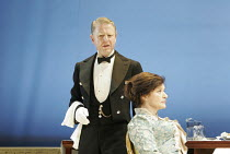 'YOU NEVER CAN TELL' (GB Shaw - director: Peter Hall),Edward Fox (Waiter), Diana Quick (Mrs Clandon),Theatre Royal Bath             25/08/2005,