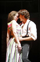 DIRTY DANCING   by Eleanor Bergstein   director: James Powell,Georgina Rich (Baby), Josef Brown (Johnny),Aldwych Theatre, London WC2                         24/10/2006,
