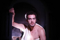FAUSTUS   by Christopher Marlowe   adapted by Rupert Goold & Ben Power    director: Rupert Goold ~Jake Maskall (Mephistopheles)~in association with  Headlong Theatre and Royal & Derngate Northampton...