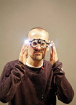 FAUSTUS   by Christopher Marlowe   adapted by Rupert Goold & Ben Power    director: Rupert Goold ~Stephen Noonan (Jake Chapman)~in association with  Headlong Theatre and Royal & Derngate Northampton...