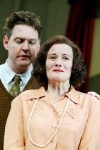 'AFTER THE DANCE' (Rattigan)~Bob Barrett (John Reid), Catherine Russell (Joan Scott-Fowler)~Oxford Stage Company / Salisbury Playhouse                 09/10/2002