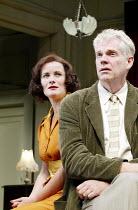 'AFTER THE DANCE' (Rattigan)~Catherine Russell (Joan Scott-Fowler), Michael Siberry (David Scott-Fowler)~Oxford Stage Company / Salisbury Playhouse                 09/10/2002
