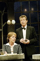 'AFTERPLAY' (Friel) Penelope Wilton (Sonya Serebriakova), John Hurt (Andrey Prozorov) Gate Theatre Dublin production / Gielgud Theatre, London W1                        19/09/2002
