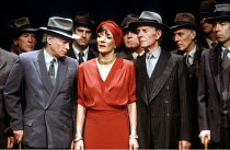 Jane Lapotaire (Antigone) in ANTIGONE by Sophocles at the Cottesloe Theatre, National Theatre (NT), London SE1  17/05/1984  translated by C A Trypanis  design: Alison Chitty  lighting: Stephen Wentwo...