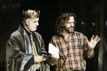 'ALL'S WELL THAT ENDS WELL' (Shakespeare)~Gary Waldhorn (King of France), Gregory Doran (director)~Swan Theatre / Royal Shakespeare Company   Stratford-upon-Avon, England                    11/12/2003