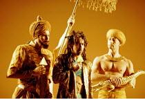 'GIULIO CESARE' (Handel)~centre: Brian Asawa (Tolomeo)~Royal Opera/Barbican Theatre  1997