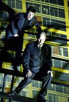 GOTTERDAMMERUNG by Wagner~Elizabeth Byrne (Brunnhilde), Mats Almgren (Hagen)~Scottish Opera / Festival Theatre, Edinburgh                  05/04/2003