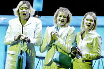 GOTTERDAMMERUNG (Wagner)~l-r: Inka Rinn (Woglinde), Leah Marian Jones (Flosshilde), Marianne Andersen (Wellgunde)~Scottish Opera / Festival Theatre, Edinburgh                  05/04/2003