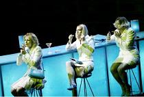 GOTTERDAMMERUNG (Wagner)~l-r: Leah Marian Jones (Flosshilde), Marianne Andersen (Wellgunde), Inka Rinn (Woglinde)~Scottish Opera / Festival Theatre, Edinburgh                  05/04/2003