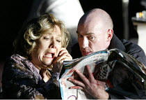 'HAMLET' (Shakespeare)   (director: Calixto Bieito) Diane Fletcher (Gertrude), George Anton (Hamlet) Birmingham Repertory Theatre & Edinburgh International Festival co-production    Royal Lyceum Th...