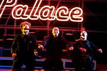 'HAMLET' (Shakespeare)   (director: Calixto Bieito) l-r: Matthew Douglas (Rosencrantz), George Anton (Hamlet), Nicholas Aaron (Guildenstern) Birmingham Repertory Theatre & Edinburgh International Fe...