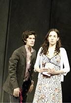'HAMLET' (Shakespeare - director: Trevor Nunn   design: John Gunter   lighting: Paul Pyant)~Ben Whishaw (Hamlet), Samantha Whittaker (Ophelia)~The Old Vic, London SE1                        27/04/2004