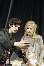 'HAMLET' (Shakespeare - director: Trevor Nunn   design: John Gunter   lighting: Paul Pyant)~Ben Whishaw (Hamlet), Imogen Stubbs (Gertrude)~The Old Vic, London SE1                        27/04/2004