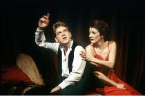 'HAMLET' (Shakespeare - director: Adrian Noble)~Kenneth Branagh (Hamlet), Jane Lapotaire (Gertrude)~Royal Shakespeare Company (RSC), Barbican Theatre, London EC2  12/1992