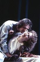 HAMLET   by Shakespeare - director: Jonathan Kent,Ralph Fiennes (Hamlet), Francesca Annis (Gertrude),Hackney Empire, London E8 / Almeida Theatre production                                    28/02/199...