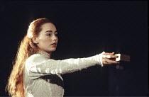 HAMLET   by Shakespeare - director: Jonathan Kent,Tara Fitzgerald (Ophelia),Hackney Empire, London E8 / Almeida Theatre production                                    28/02/1995,