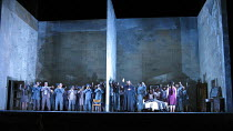 LADY MACBETH OF MTSENSK by Shostakovich  conductor: Antonio Pappano   director: Richard Jones~company~The Royal Opera / Covent Garden   London WC2         01/04/2004