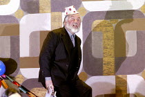 LADY MACBETH OF MTSENSK by Shostakovich  conductor: Antonio Pappano   director: Richard Jones~the 'ghost' of Boris at Katerina & Sergey's wedding: John Tomlinson (Boris Ismailov)~The Royal Opera / Cov...