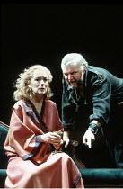 MACBETH  by Shakespeare  director: Michael Bogdanov ~Lynn Farleigh (Lady Macbeth), Tony Haygarth (Macbeth)~English Shakespeare Company / Peacock Theatre, London WC2     11/1992
