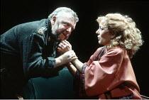 MACBETH  by Shakespeare  director: Michael Bogdanov ~Tony Haygarth (Macbeth), Lynn Farleigh (Lady Macbeth)~English Shakespeare Company / Peacock Theatre, London WC2     11/1992