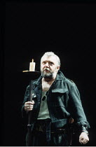 MACBETH  by Shakespeare  director: Michael Bogdanov ~Tony Haygarth (Macbeth)~English Shakespeare Company / Peacock Theatre, London WC2     11/1992