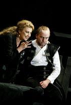 'MACBETH ' (Verdi)~Maria Guleghina (Lady Macbeth), Anthony Michaels-Moore (Macbeth)~The Royal Opera/Covent Garden, London WC2                     13/06/2002