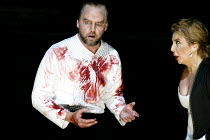 'MACBETH ' (Verdi)~Anthony Michaels-Moore (Macbeth), Maria Guleghina (Lady Macbeth) ~The Royal Opera/Covent Garden, London WC2                     13/06/2002