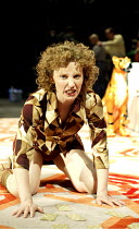 'MACBETH' (Shakespeare - director: Calixto Bieito)~Roser Cami (Lady Macbeth)~Teatre Romea / BITE:03   Barbican Theatre, London EC2                  08/04/2003