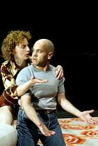 'MACBETH' (Shakespeare - director: Calixto Bieito)~Roser Cami (Lady Macbeth), Mingo Rfols (Macbeth)~Teatre Romea / BITE:03   Barbican Theatre, London EC2                  08/04/2003