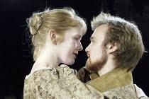 MACBETH by Shakespeare  director: Andrew Hilton~Zoe Aldrich (Lady Macbeth), Gyuri Sarossy (Macbeth)~Tobacco Factory, Bristol                          06/02/2004