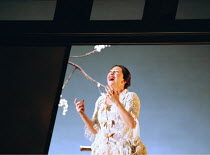 'MADAMA BUTTERFLY' (Puccini)~Butterfly despairs at Pinkerton's failure to return: Natalia Dercho (Cio-Cio-San)~Scottish Opera  05/12/2000