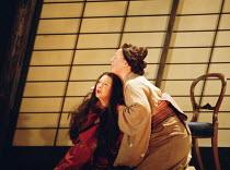 'MADAMA BUTTERFLY' (Puccini) Pinkerton fails to return, Suzuki comforts Butterfly: Natalia Dercho (Cio-Cio-San), Jane Irwin (Suzuki) Scottish Opera  05/12/2000