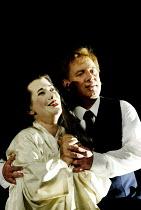 'MADAM BUTTERFLY' (Puccini)~Julia Melinek (Cio-Cio-San/Butterfly), Bonaventura Bottone (Lieutenant Pinkerton)~English National Opera/London Coliseum., WC2                    11/05/2002