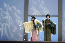 'MADAMA BUTTERFLY' (Puccini - conductor: Daniel Oren   directors: Moshe Leiser & Patrice Caurier),l-r: Cristina Gallardo-Domas ( Cio-Cio-San), Christine Rice (Suzuki),The Royal Opera / Covent Garden,...
