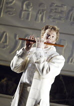 THE MAGIC FLUTE   by Mozart - original director: Nicholas Hytner,Toby Spence (Tamino),English National Opera / London Coliseum  WC2         18/03/2004    revived 19/09/2005,