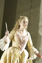 'THE MAGIC FLUTE' (Mozart - conductor: Nicholas Kraemer   original director: Nicholas Hytner)~Carolyn Sampson (Pamina)~English National Opera / London Coliseum  WC2         18/03/2004