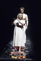 'THE MAGIC FLUTE' (Mozart - conductor: Nicholas Kraemer   original director: Nicholas Hytner)~Carolyn Sampson (Pamina), Toby Spence (Tamino)~English National Opera / London Coliseum  WC2         18/03...