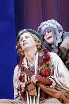 DIE ZAUBERFLOTE (THE MAGIC FLUTE) by Mozart - conductor: Jean-Yves Ossonce   director: Dominic Cooke) Teddy Tahu Rhodes (Papageno), Claire Hampton (Papagena) Wales Millennium Centre / Cardiff...