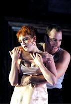 'THE MARRIAGE OF FIGARO' (Mozart)~l-r: Mary Nelson (Susanna), Christopher Maltman (Figaro)~English National Opera/London Coliseum                08/11/2001