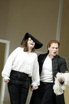 'LE NOZZE DI FIGARO' (Mozart)   (director: Daniel Farncombe   conductor: Mark Wigglesworth)~Linda Tuvas (Cherubino), Christopher Maltman (Figaro)~Glyndebourne Festival Opera                   06/07/20...