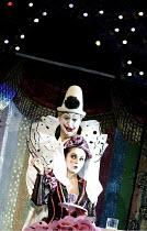 'PAGLIACCI' (Leoncavallo)   (conductor: Antonio Pappano   producer: Franco Zeffirelli)~Placido Domingo (Canio), Nuccia Focile (Nedda/Columbine)~The Royal Opera / Covent Garden, London WC2...