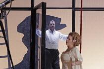 'DAS RHEINGOLD' (Wagner - conductor: Antonio Pappano   director: Keith Warner   ,set design: Stefanos Lazaridis   costume design: Marie-Jeanne Lecca   lighting: Wolfgang G�bbel),Bryn Terfel (Wotan), E...
