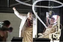 'DAS RHEINGOLD' (Wagner - conductor: Antonio Pappano   director: Keith Warner  ,set design: Stefanos Lazaridis   costume design: Marie-Jeanne Lecca   lighting: Wolfgang G�bbel),Alberich with experimen...