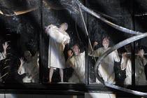 'DAS RHEINGOLD' (Wagner - conductor: Antonio Pappano   director: Keith Warner  ,set design: Stefanos Lazaridis   costume design: Marie-Jeanne Lecca   lighting: Wolfgang Gobbel),Alberich's & Mime's exp...