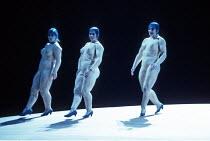 DAS RHEINGOLD by Wagner  conductor: Bernard Haitink  design: Nigel Lowery  lighting: Pat Collins  director: Richard Jones ~the Rhinemaidens - l-r: Gillian Webster (Wellgunde), Judith Howarth (Woglinde...