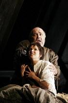 'RIGOLETTO' (Verdi - conductor: Edward Downes   original director: David McVicar),final scene - Paolo Gavanelli (Rigoletto), Anna Netrebko (Gilda),The Royal Opera / Covent Garden   London WC2        1...