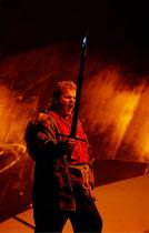 SIEGFRIED  by Richard Wagner  conductor: Richard Armstrong  set design: Hildegard Bechtler  costumes: Ana Jebens  lighting: Peter Mumford  director: Tim Albery ~Graham Sanders (Siegfried)~Scottish Ope...