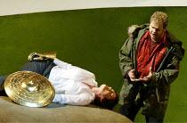 SIEGFRIED  by Richard Wagner  conductor: Richard Armstrong  set design: Hildegard Bechtler  costumes: Ana Jebens  lighting: Peter Mumford  director: Tim Albery ~Elizabeth Byrne (Brunnhilde), Graham Sa...