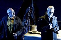SIEGFRIED  by Richard Wagner  conductor: Richard Armstrong  set design: Hildegard Bechtler  costumes: Ana Jebens  lighting: Peter Mumford  director: Tim Albery ~l-r: Alasdair Elliott (Mime), Matthew B...
